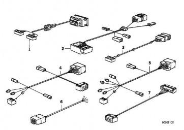 Adapterleitung 4-KANAL 3er 8er 7er 5er  (65128350007)