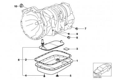 Schraube M6X16           3er 5er X3 X5 Z3  (24117533655)