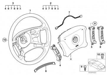Lenkrad Leder Airbag D=385MM         (32346753739)