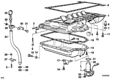 Stiftschraube M8X45-8.8-ZNS3  3er 5er 6er 7er 8er  (07129903965)