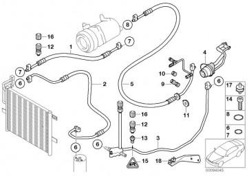 Druckleitung Kompressor-Kondensator (64536905645)