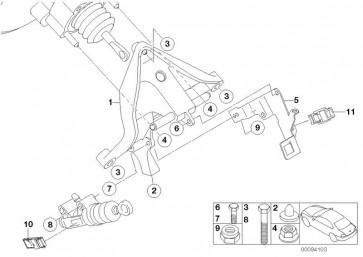 Halter Bremslicht-und Kupplungsschalter (35211497446)