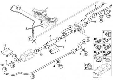 Kraftstoffrücklaufleitung kurz vorne (16126755979)
