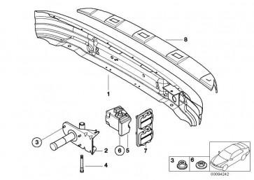 Pralldämpfer hinten links  Z3  (51128410751)