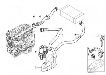 Schlauch Heizkörper-Motorrücklauf (64218385883)