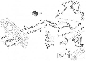 Druckleitung Ventilblock M14X1,5/M16X1,5 (37136753032)