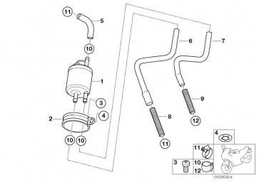 Kraftstoffschlauch Vorlauf (13537659966)