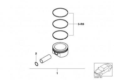 Reparatursatz Kolbenringe (+0,25)         MINI  (11257520134)