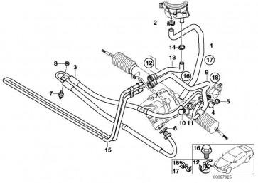 Kühlerrücklaufleitung  X5  (32416767136)
