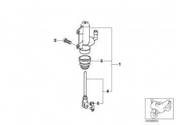 Hauptbremszylinder D=15,87          (46717652006)