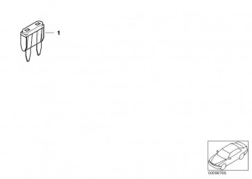 Sicherung Mini gelbbraun 5A              1er 3er 5er 6er 7er X1 X3 X5 X6 Z4 Z8 MINI  (61136917401)