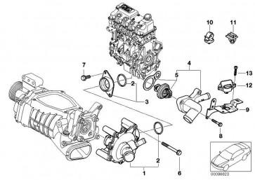 Sechskantschraube mit Scheibe M6X30MM         MINI  (07131486714)