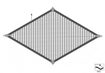 Gepäckraumbodennetz  3er  (82119407000)