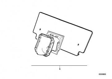 Nachrüstsatz Skisack  5er  (72609405802)