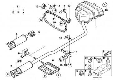 Sechskantschraube mit Flansch  X5 X6 MINI  (41007058312)