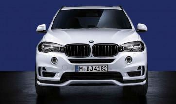 BMW Aerodynamik Frontaufsatz schwarz-matt X5 F15 mit PDC vorne