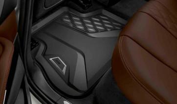 BMW Allwetter Fußmatten hinten X5 G05