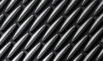 BMW Satz Gummimatten hinten schwarz passend für 6er F06 GC