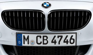 BMW Performance Frontziergitter schwarz inkl. Blende Oberteil 3er E90 E91 bis 09/08