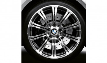 BMW Alufelge M Doppelspeiche 220 9,5J x 19 ET 23 Jet Black Uni Hinterachse BMW 3er E90 E92 E93