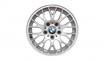 BMW Alufelge Kreuzspeiche 42 silber 7J x 16 ET 46 Vorderachse/Hinterachse BMW 3er E46