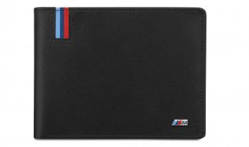 BMW M Geldbörse mit Münzfach schwarz