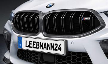 BMW M Performance Frontziergitter Carbon mit iCam M8 F91 F92 F93
