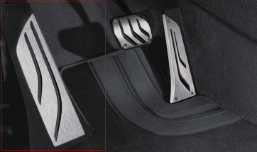 BMW M Performance Fußstütze Edelstahl X5 G05 X6 G06 X7 G07