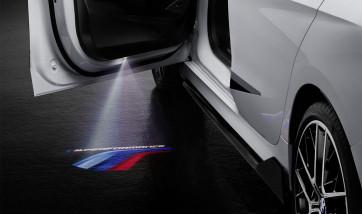 BMW M Performance Logos für LED-Türprojektoren
