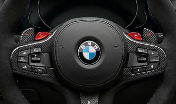 BMW M Performance Schaltwippen Carbon 5er G30 G31 M5 F90 6er G32 7er G11 G12 8er G14 G15 G16 M8 F91 F92 X3 G01 X3M F97 X4 G02 X4M F98 X5 G05 X6 G06 X7 G07