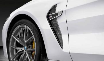 BMW M Performance Zierleiste Lufteinlass Kotflügel Carbon M8 F91 F92 F93