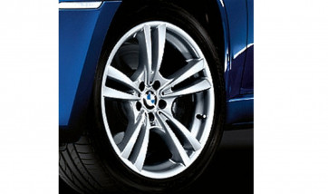 BMW Alufelge M V-Speiche 299 silber 10J x 20 ET 40 Vorderachse X5M E70 X6M E71