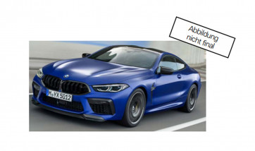 BMW M8 Coupé Miniatur