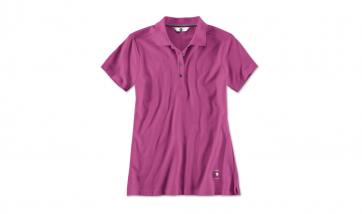 BMW Damen Poloshirt zyclam red