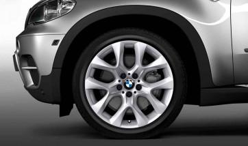 BMW Alufelge Sternspeiche 334 silber 9J x 19 ET 48 Vorderachse / Hinterachse X5 E70