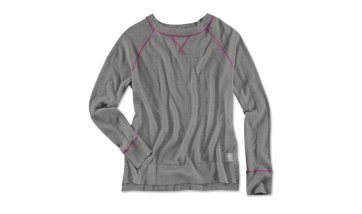 BMW Damen Stricksweater asphalt grey melange