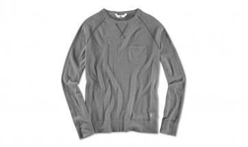 bmw herren stricksweater asphalt grey melange. Black Bedroom Furniture Sets. Home Design Ideas