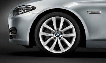 BMW Alufelge V-Speiche 331 silber 8,5J x 19 ET 33 Vorderachse / Hinterachse 5er F10 F11 6er F06 F12 F13