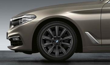 BMW Alufelge V-Speiche 684 orbitgrey 8J x 18 ET 30 Vorderachse / Hinterachse 5er G30 G31 6er G32