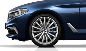 BMW Alufelge Vielspeiche 633 reflexsilber 8J x 19 ET 30 Vorderachse / Hinterachse 5er G30 G31