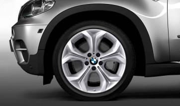 BMW Alufelge Y-Speiche 335 silber 9J x 19 ET 48 Vorderachse X5 E70