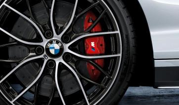 BMW 17 Zoll Sportbremsscheibe belüftet gelocht vorne 3er E46 Z4 E85 E86