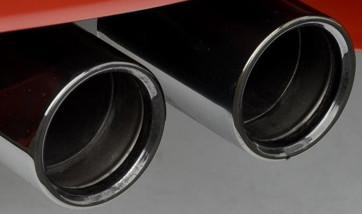BMW Competition Endrohrblende schwarz 5er M5 F10 6er M6 F06 GC F12 F13