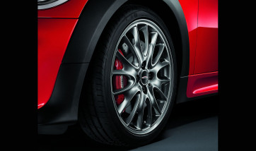 MINI Alufelge John Cooper Works Cross Spoke R114 5,5J x 17 ET 42 Titangrau Vorderachse / Hinterachse MINI R55 R56 R57 R58 R59