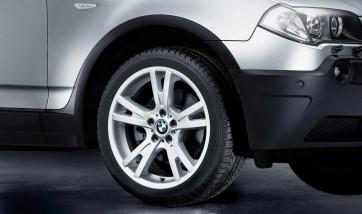 BMW Alufelge Doppelspeiche 150 8,5J x 19 ET 46 Silber Vorderachse BMW X3 E83 (nur noch 1 Stück verfügbar)