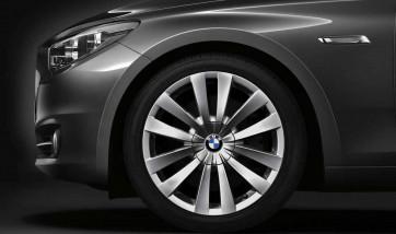 BMW Alufelge Doppelspeiche 253 10J x 20 ET 41 Silber Hinterachse BMW 5er F07 7er F01 F02 F04