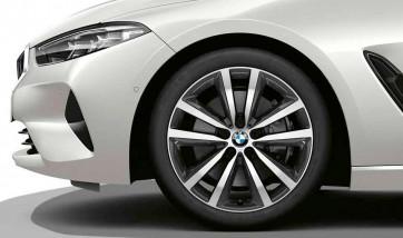 BMW Alufelge Doppelspeiche 690 orbitgrey 9J x 19 ET 41 Hinterachse 8er G14 G15 G16
