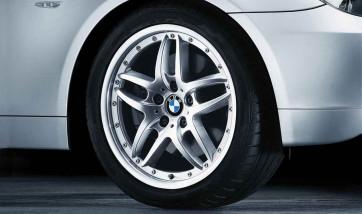 BMW Alufelge Doppelspeiche 71 8J x 17 ET 47 Vorderachse/Hinterachse BMW Z4 E85, 3er E46