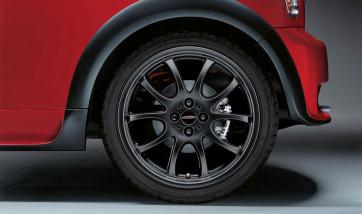 MINI Alufelge JCW Double Spoke R105 schwarz 7J x 18 ET 52 Vorderachse / Hinterachse R50 R52 R53 R55 R56 R57 R58 R59