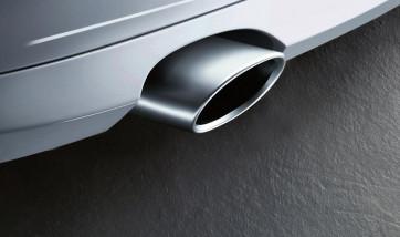 BMW Endrohrblende Alu-Look 1er E81 E87 E88